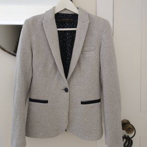 Zara Grey & Blue Blazer